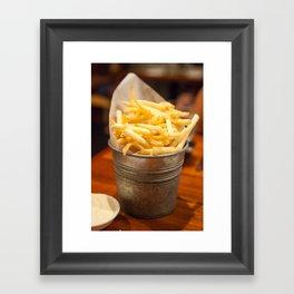 Golden Crisps Framed Art Print