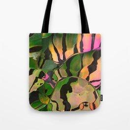 Vegetarian Zebra Tote Bag
