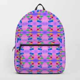 Pattern by geometrical pictures Backpack