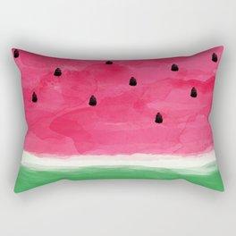 Watermelon Abstract Rectangular Pillow