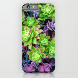 Green Fantasy by Lika Ramati iPhone Case