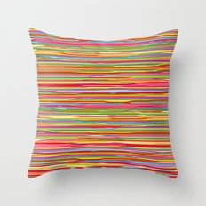 Color paint Throw Pillow