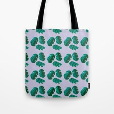 Monster tropical plants Tote Bag