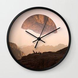 Wanderers Still Wall Clock