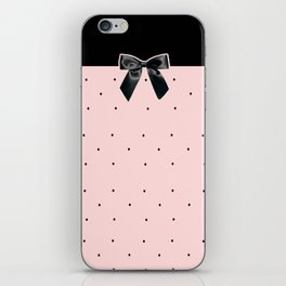 Black Tie Affair: Pink iPhone Skin