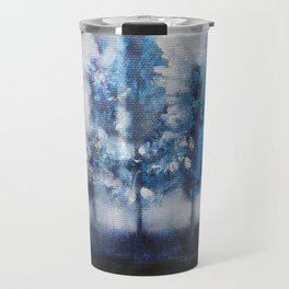Blue trees Travel Mug
