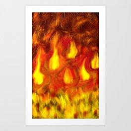 Calor Art Print