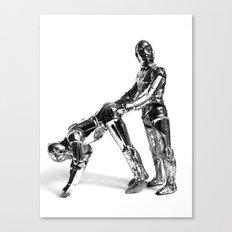 Droid Buttseks Canvas Print