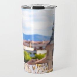 Fine Dining in Segovia Travel Mug