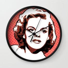Judy Garland   Pop Art Wall Clock