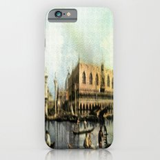 Return of the Bucintoro to the Molo on Ascension Day (Painted in 1729) iPhone 6s Slim Case