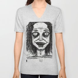 CRAZY DUDE Unisex V-Neck