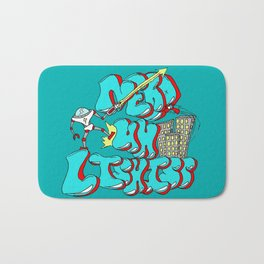 Nerds Are Heroes Bath Mat