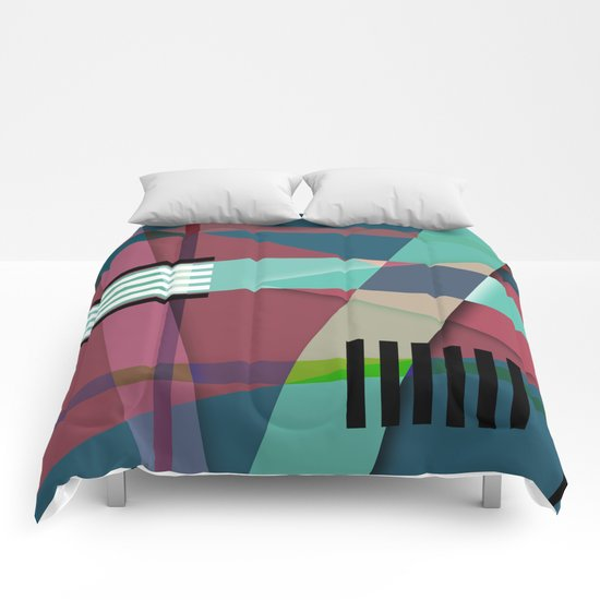 Abstract #410 Comforters