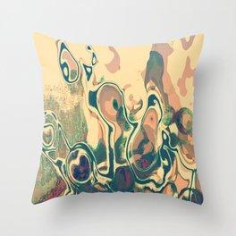 Damage Throw Pillow