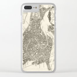 Map of Venice - 1764 Clear iPhone Case