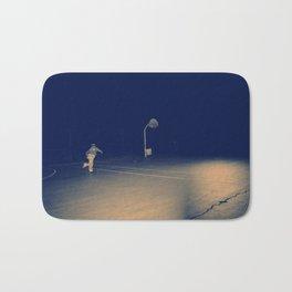 The Skateboarder Bath Mat