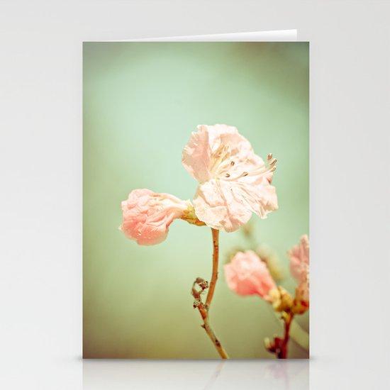 Aprils' Pink blossom Stationery Cards