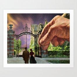 Pearly Gates Art Print