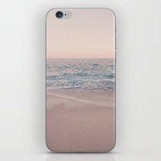ROSEGOLD BEACH iPhone Skin