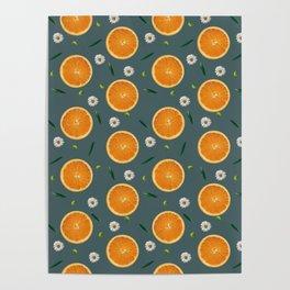 Aliño de naranjas Poster