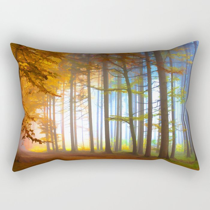 Ethereal Forest  Rectangular Pillow