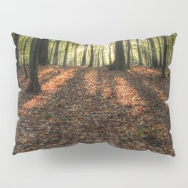 Autumn Forest Sunrise. Pillow Sham