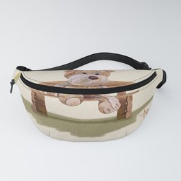 Cuddly At The Park Fanny Pack