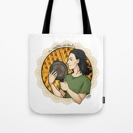 In Waffles We Trust Tote Bag