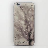 rain iPhone & iPod Skins featuring Rain  by Laura Ruth