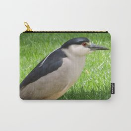 Black Crowned Night Heron in the Park Carry-All Pouch