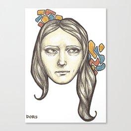 Danni Canvas Print