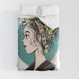 Spring (Light Background) Comforters
