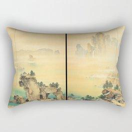 Good Omen - Yamamoto Shunkyo Rectangular Pillow