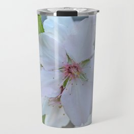 Almond tree flower blooming Travel Mug