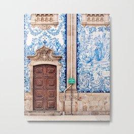 Porto Photo - The Carmo Church Metal Print
