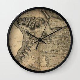 Philadelphia 1796 Wall Clock