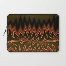 Fractal Tribal Art in Autumn Laptop Sleeve