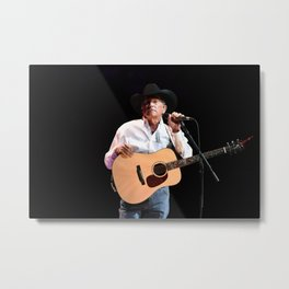 George Strait in Vegas Metal Print