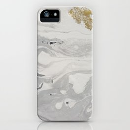Concrete marbel iPhone Case