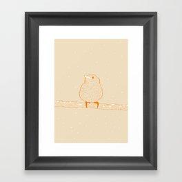 Pio Pio (RIP) Framed Art Print