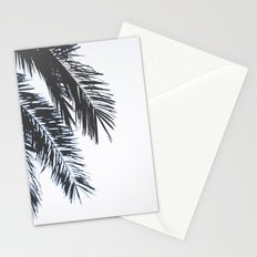 Palm Tree leaves abstract II Stationery Cards