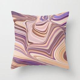 SXSW - painted desert Throw Pillow