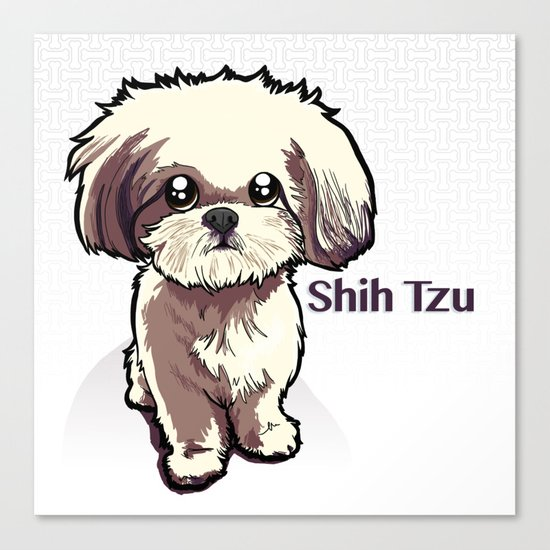 Alice (Shih Tzu) Canvas Print