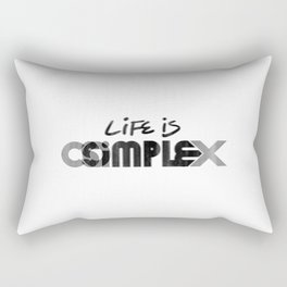 Or Is It? Rectangular Pillow