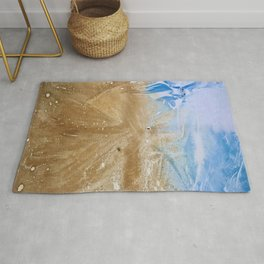 Take me to the beach, Leave me there alone Rug