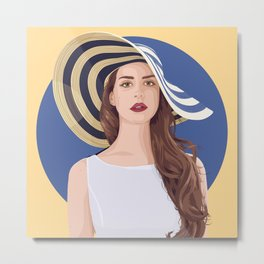 Queen of Saigon Metal Print