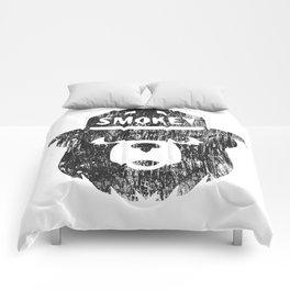 Smokey Bear Distressed Logo Comforters