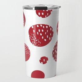 Abstract design with circles Travel Mug