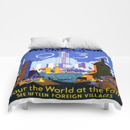 Vintage poster - Chicago Comforters